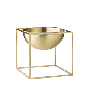 Kubus Bowl Brass, Small