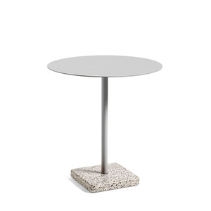 Terrazzo table round top 3 colors