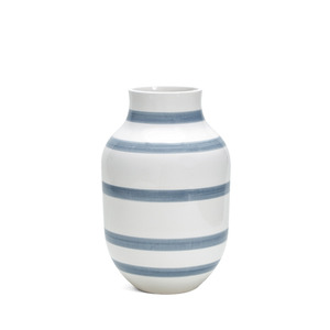 Omaggio vase Light Blue H305(13038)