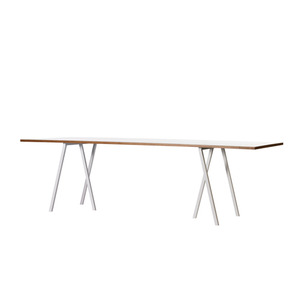 Loop Stand Table - white