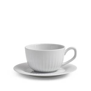 Hammershøi Cup with Saucer White(16060)