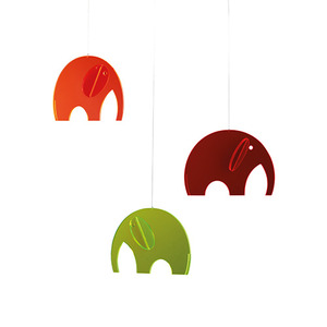 149p Olephants (plexiglass)
