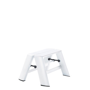 Lucano step stool / 1-step, white 94014