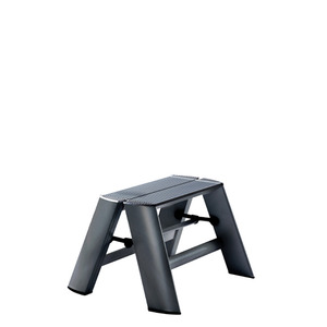 Lucano step stool / 1-step, black 94014