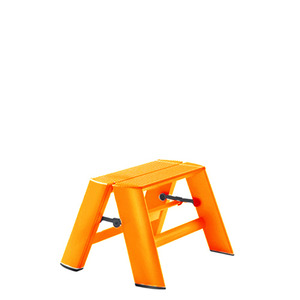 Lucano step stool / 1-step, orange 94014