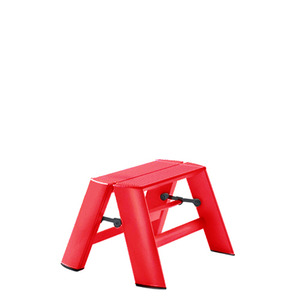 Lucano step stool / 1-step, red 94014