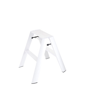 Lucano step stool / 2-step, white 94015