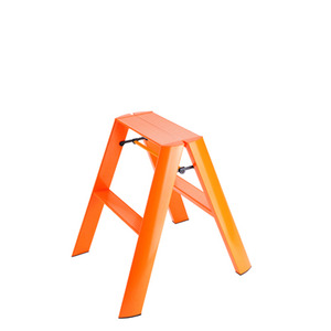 Lucano step stool / 2-step, orange 94015