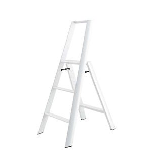 Lucano step stool / 3-step, white 94016