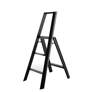 Lucano step stool / 3-step, black 94016