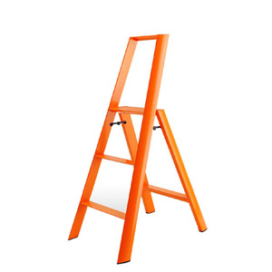 Lucano step stool / 3-step, orange 94016