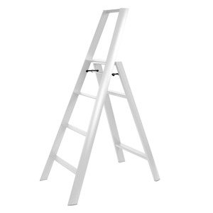 Lucano step stool / 4-step, white 94017