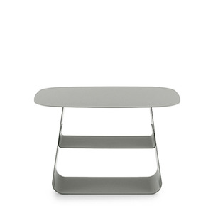 Stay Table, Large (52*40)  stone grey, green, burgundy (602224,602225,602226)