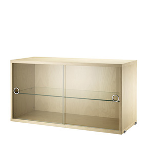 Display Cabinet Birch