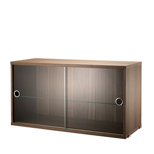 Display Cabinet Walnut