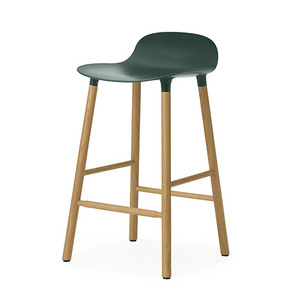 Form Barstool 65 (oak), green(602784)