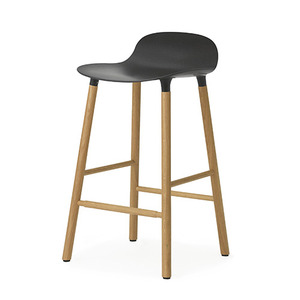 Form Barstool 65 (oak), black(602782)