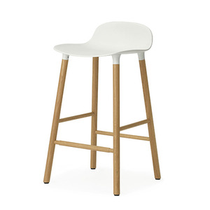 Form Barstool 65 (oak), white (602780)