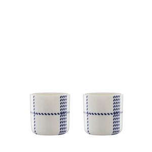 Mormor blue Egg cup 2pcs