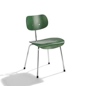 SE 68, non-stackable  green/chrome