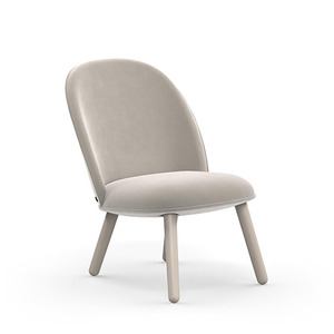 Ace lounge chair Velour beige(603053) 주문 후 3개월 소요