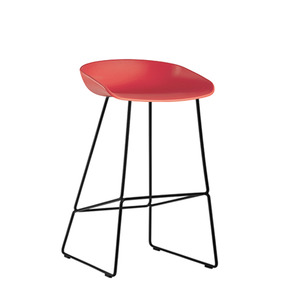 About A Stool AAS38 Coral/Black 65cm (238005) 주문 후 2개월 소요