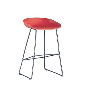 About A Stool AAS38 Coral/Steel 65cm (238003)