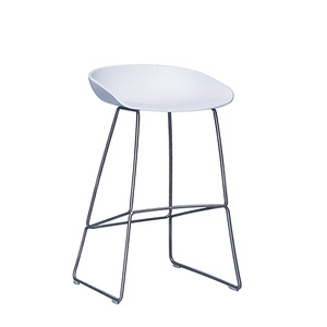 About A Stool AAS38 White/Steel 65cm (238201) 주문 후 2개월 소요