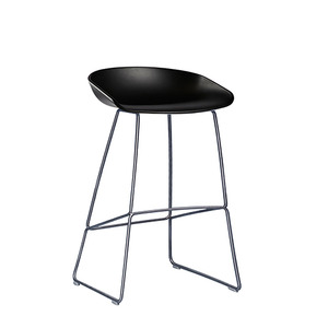 About A Stool AAS38 Black/Steel 65cm (238402) 주문 후 2개월 소요
