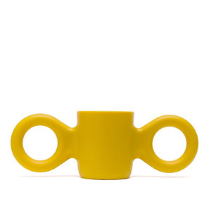 Dombo design cup - yellow