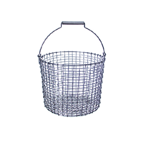 Bucket 24L galvanized steel (32030)